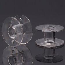 Macchine per cucire bobina in plastica 20x11mm 6,3mm PERFORATORE sotto BOBINA FILO