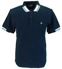 Merc London Brigade Black 100% Cotton Polo Shirt