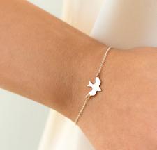 Damen Kette Armkette gold silber Vogel Bird Tier Style Blogger Freiheit Armband