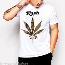 Marijuana T-Shirt, Weed Cannabis, 420, blunt, bong, drugs men swag Pablo Escobar