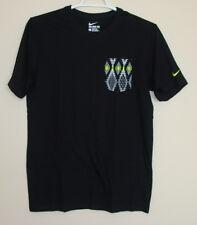 NWT Nike Men's Pocket Short Sleeve Cotton Tee T-Shirt Size S M L XL 2XL 839614
