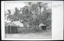 MEXICO~1900's VENTA VIEGA (Vieja)~ Thatched Roof Huts