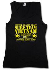 Surf Team Vietnam I Tank Top Vest - Apocalypse Now Movie Da Nang Beach Us Army