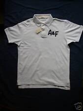 Men's Abercrombie Brandy Brook Polo Shirt White