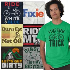 Biker Tees Shirt Graphic Motorcycle T Shirts For Mens Womens Biking Gift Tshirts