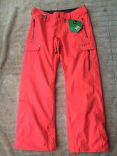 BNWT Volcom Wild Insulated Snowboard Ski Pants Firecracker Size Large