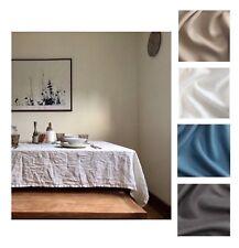 TOVAGLIA di lino, minimalista TOVAGLIA, LINO RUSTICO TOVAGLIA, NEUTRO Linens