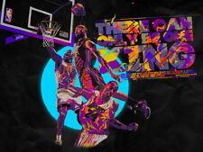 Lebron James King Posterize Dunk Basketball HUGE GIANT PRINT POSTER