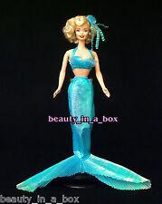 Marilyn Monroe Barbie Doll as Mystical Mermaid OOAK Celebrity Redress Loose w