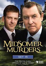 Midsomer Murders: Set 15 DVD Region 1------------ John Nettles, Jason Hughes