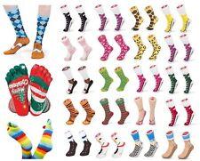 Sneaker Socken Silly Socks Lustige Scherzartikel Sandalen Chuks Clogg Broque