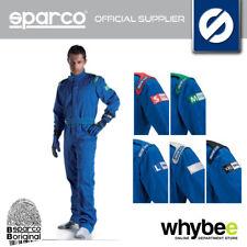 SALE! SPARCO INDOOR K-1 K1 KARTING SUIT KART OVERALLS BLUE SIZE S TO XXL 002325