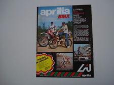 advertising Pubblicità 1980 APRILIA BMX