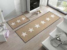 wash+dry Fußmatte Stars sand waschbare Fußmatte