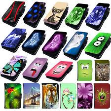 Für Samsung Galaxy S7 Hülle Schutzhülle Handy Tasche Case Etui Book Cover Motiv