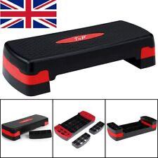 Adjustable Aerobic Step Stepper Exercise Cardio Pilates Training Gym Board Block