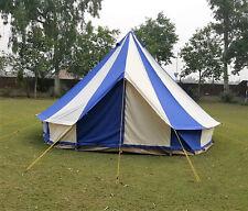 Bell tent 4 Meter 5 Meter 5M Glamptex 400Ultimate ZIG Zipped-in-Groundsheet Blue