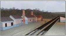 Grosmont Station Buildings - Card kit - HO/OO, N, Z Gauge, 1:100