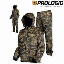 Prologic Bank Bound 3 Season Camo Set alle Größen Anzüge Bekleidung Jacke Hose