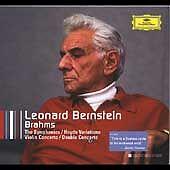 LEONARD BERNSTEIN CONDUCTS BRAHMS (COLLECTORS EDITION) 5 CD BOX SET