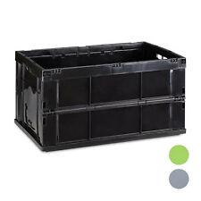Klappbox faltbare Transportbox Aufbewahrungsbox Faltbox Stapelbox Spielzeugkiste