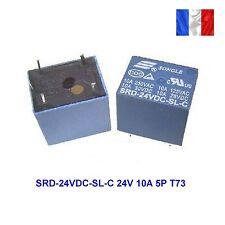 24v relais srd-24vdc-sl-c / 250vac 10a/ 30vdc 10a / 28vac 10a /125vac 10a  (34A)