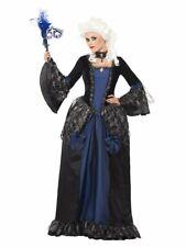 Baroque Beauty Masquerade Costume Womens Renaissance Victorian Fancy Dress SM-LG