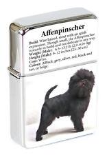 Affenpinscher Flip Top Lighter in Gift Tin