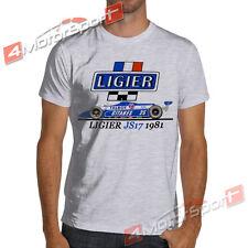 1981 F1 Ligier JS17 Talbot Gitanes Matra V12 White or Gray T-Shirt Formula 1