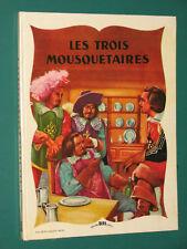 Les trois mousquetaires DUMAS ill. BRARD éd. BIAS
