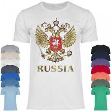 Royal Shirt rs86 Herren T-Shirt Das Wappen Russlands | Der doppelköpfige Adler