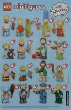 Lego figuras Simpsons - 71005-selección-NUEVO-Embalaje original sin abrir o ZIP bolsa