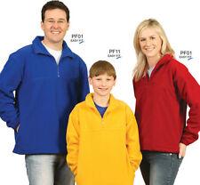 Mens / Ladies Polar Fleece Pullover Sweaters / Windcheaters / Jumpers - PF01