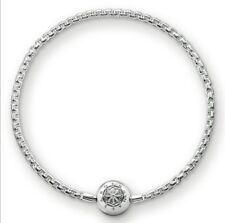 KA0001 New Genuine Thomas Sabo Sterling Silver Karma Bead Bracelet £59