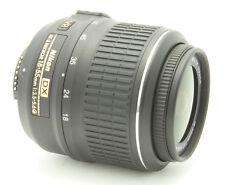 Nikon DX AF-S Nikkor 18-55mm 1:3.5-5.6GII ED LENS, With UV FILTER