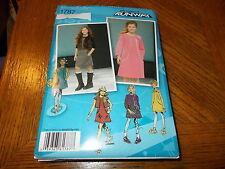 Simplicity Pattern 1787 Girls/Girl Plus PROJ RUNWAY Dress~Jumper w/Opts & Vest