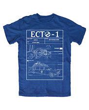 Ecto-1 premium T-Shirt royal Neu Kult der 80 Jahre Geisterjäger Ghostbusters