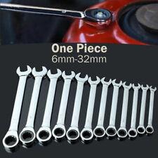 Clé à cliquet clés fourche anneau 6-32mm clé plate