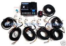 120W 6-Bulbs Strobe Light Kit 12 Volt Emergency EMS SUV White / Clear Bulb