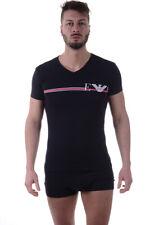 T-shirt Maglietta Emporio Armani T-Shirt Sweatshirt % Uomo Nero 1108107P525-20