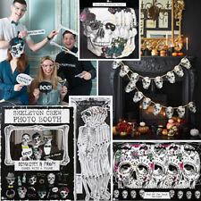 Accesorio De Fiesta De Halloween Decoración &/Esqueleto Banner Máscara Cabina de Fotos Accesorios