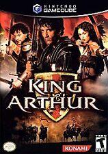 King Arthur Nintendo GameCube -- Comes in case