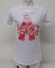 Coca Cola White Color Women's Short Sleeve T-Shirt