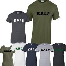 KALE Tumblr T-SHIRT HIPSTER Scherzo T-shirt Unisex Vegetariano Vegan alimentato da piante