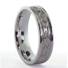 Irischer Herrenring Silber keltische Knoten