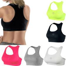 Women Yoga Sports Bra Racerback Fitness Gym Stretch Workout Crop Tank Top SM LXL