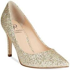 NIB $120 Adrianna Papell Adrianna Pointed-Toe Evening Pump 8 8.5 Platino Glitter