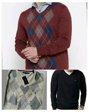 TOMMY HILFIGER Mens Sweater V neck