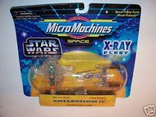 STAR WARS  Micro Machines     X-RAY FLEET Set#4