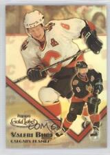 2000-01 Topps Gold Label Class 1 #6 Valeri Bure Calgary Flames Hockey Card